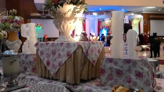 Dekorasi buffet